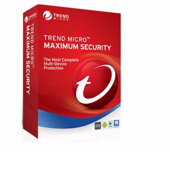 Harga Trend Micro Maximum Security for 3 devices 3-year license