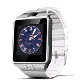 Harga DZ09 Bluetooth Smart Watch (White)