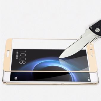 Harga Full Cover Screen Protectors 9H Super Hardness HD Toughened Tempered Glass for Huawei Honor Note 8 - Gold - - intl