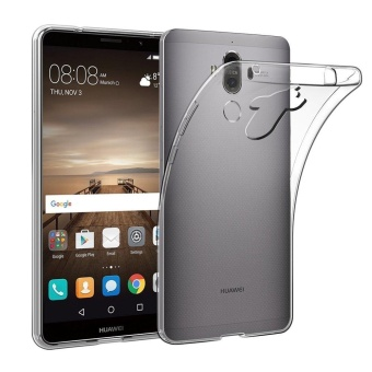 Soft TPU Case Crystal Clear Transparent Slim Anti Slip Case Back Protector Cover Shockproof for Huawei Mate 9 - intl