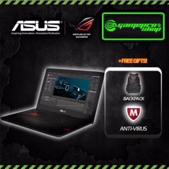 Harga Asus ROG GL502VM i7-7700HQ GTX1060 6GB Gaming Laptop