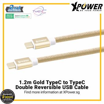 Harga XPower Type-C to Type-C Double Reversible USB Cable