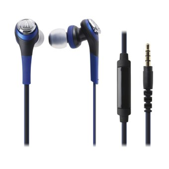 Harga Audio-Technica ATH-CKS550iS Solid Bass In Ear Headphones (Blue)