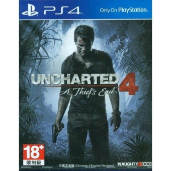 Harga PS4 Uncharted 4 A Theft's End