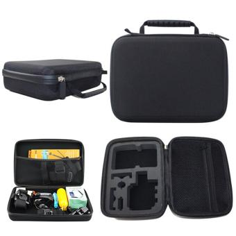Harga Large Waterproof Shockproof Protective Carry Case Bag for GoPro Hero 1 2 3 + 4 Accessories - intl