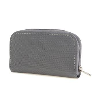 SDHC MMC CF Micro SD Memory Card Storage Pouch Case Holder Carrying Bag Gray