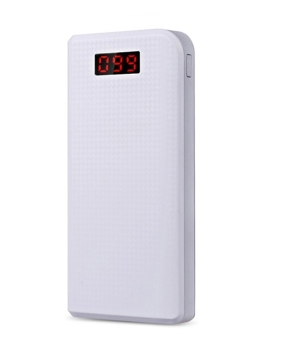 Harga Proda 30000mAh Portable Power Bank Portable Charger White