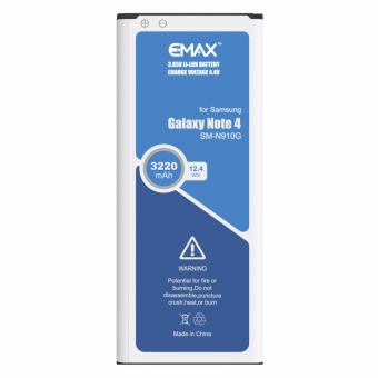 Harga eMax Battery EB-BN910BBE 3220mAh for Samsung Galaxy Note 4 N910G