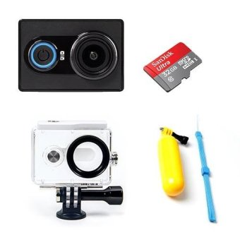 Harga Xiaomi Xiaoyi Action Camera Black Waterproof Bundle (International Version)