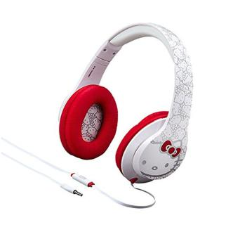 Hello Kitty Over the Ear Headphones with Built in Microphone - intl
