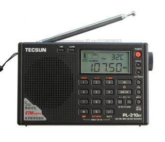 Harga TECSUN PL-310ET World Full Band Shortwave RADIO FM AM MW SW LW DSP Receiver Digital Demodulation Stereo Radio - intl