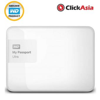 Harga WD My Passport Ultra 2TB Portable HDD USB 3 - White (WDBBKD0020BWT)