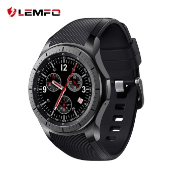 Harga LEMFO LF16 Android 5.1 MTK6580 Smart Watch Phone ROM 8GB + RAM 512MB - intl