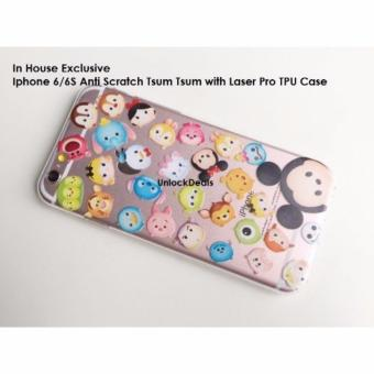 Harga Anti Scratch Laser Pro TPU Case for Apple iPhone 6S Plus [Tsum Tsum Design] (Multicolor)