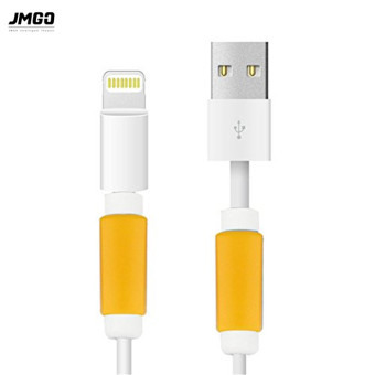 JmGO 5 Pieces Charging Cable Protector Saver Lightning Saver Protective For iPhone 5 ,5s ,6 ,6S, 6 Plus - intl