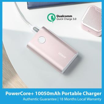 Harga Anker PowerCore+ 10050mAh Quick Charge 3.0 Portable Charger