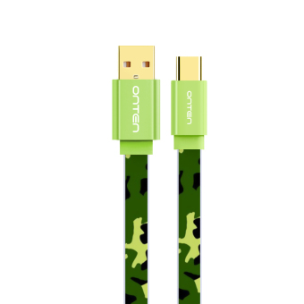 Harga Europe teng type-c data cable millet 5/4c music s camouflage longer charging charger for meizu pro6 line