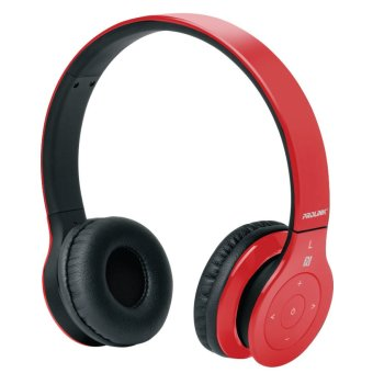 Harga PROLiNK Fervor Tune Bluetooth Stereo Headset (Red)