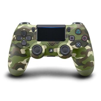 Harga NEW DUALSHOCK®4 CUH-ZCT2G16 wireless controller (Green Camouflage)