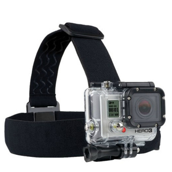 Harga Head Strap plus Chest Belt Harness Accessories for DV GoPro Hero 1 2 3
