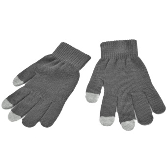 Harga Vococal Winter Knit Glove for Touchscreen (Grey)
