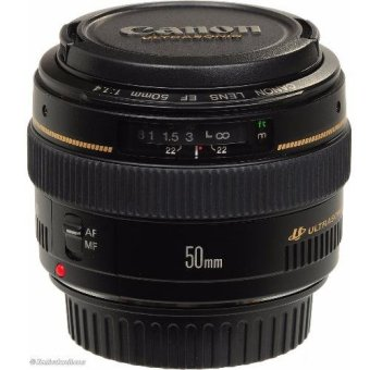 Harga Canon EF 50mm f/1.4 USM Lens export only