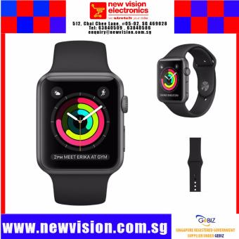 Harga Local SG Stock | Apple Watch MLE62ZA | Local Apple Warranty | Dual Core Processor | WatchOS 3 |