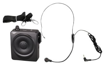 Harga Martin Roland Voice Amplifier Portable Waist-Band Portable PA System with Headset Microphone, Rechargeable Batteries