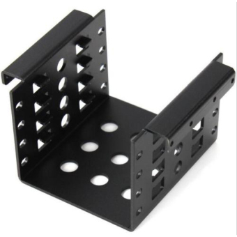 "Harga New 4-Bay HDD Aluminum Rack 3.5"" to 2.5"" SSD/HDD Hard Disk Drive Mount Bracket"