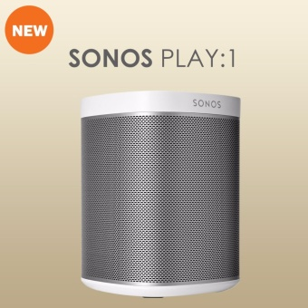 Sonos PLAY:1 Compact Wireless Smart Speaker for Streaming Music (White) - intl