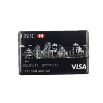 Harga WHD Bank Credit Card Shape USB Flash Drive 16GB - Intl