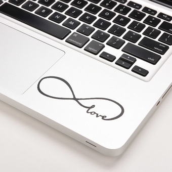 Harga Buytra Love Infinity Decal Sticker Skin for Macbook Laptop