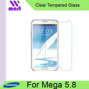 Harga Tempered Glass Screen Protector (Clear) For Samsung Galaxy Mega 5.8