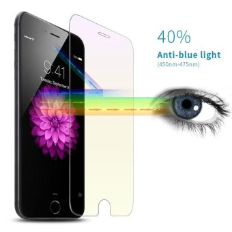 Harga Phone Film Anti-Blue Light Screen Protector Tempered Glass for Apple iPhone 6 Plus / 6s Plus - intl