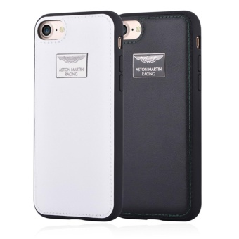 Harga Aston Martin Luxury Leather Back Case for iPhone 7 Plus(Black)