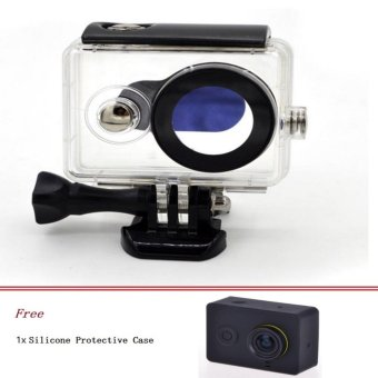 Harga IP68 Waterproof Camera Case for Xiaomi XIAOYI YI CameraⅠ - intl