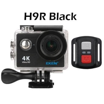 Harga EKEN H9R 4K Action Camera Wifi Sports Cam + Remote Control Shutter - intl