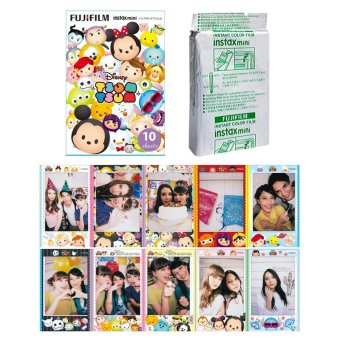 Harga Fujifilm Instax Mini Tsum Tsum Instant 10 Film for Fuji 7s 8 25 50s 70 90 / Polaroid 300 Instant Camera / Share SP-1 Printer