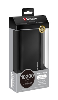 Harga Verbatim Power Bank 10200mAh Li- Polymer (Black)
