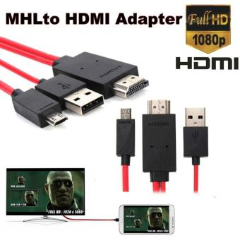 MHL Micro USB to HDMI 1080P HDTV Cable Adapter for Smart Phones - intl