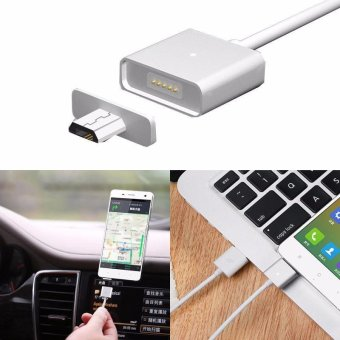 Harga New Android Micro USB Charging Cable Magnetic Adapter Charger For Most Phone And Tablet With Micro USB Port - intl