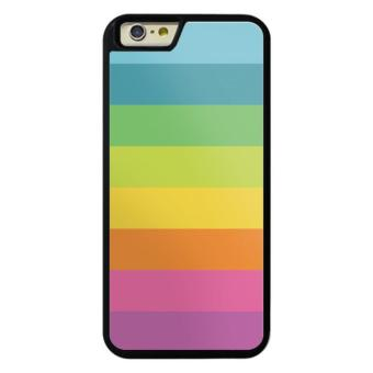 Harga Phone case for Apple iPod touch 6 Rainbow Stripes (4) cover for ipod touch6/iTouch6 - intl