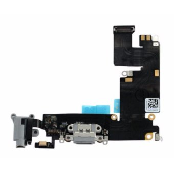 Harga Apple iPhone 6S Plus Headphone Audio Charging Data USB Port Flex Cable Replacement Part for Repairs & Fixes - intl