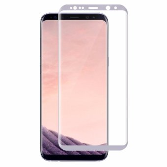 Harga Galaxy S8 3D Tempered Glass Screen Protector, Full Coverage Screen Protector for Samsung Galaxy S8 (White) - intl
