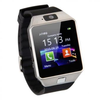 Harga BUYINCOINS DZ09 Bluetooth Smart Wrist Watch Phone Mate For Android & IOS iPhone Samsung LG (Silver)