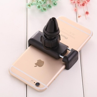 Harga NEW 360° Adjustable Car Air Vent Mount Holder For Mobile iPhone Portable - intl