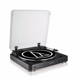 Harga Audio-Technica AT-LP60-BT Fully Automatic WirelessS Belt-Drive Stereo Turntable