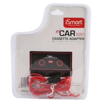 Harga TKOOFN Car Cassette Adapter for iPod Touch White (EXPORT) (Intl) (EXPORT) (Intl) (EXPORT) (Intl)