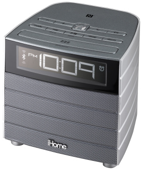 Harga iHome iBN20 NFC Bluetooth FM Clock Radio with USB Charging