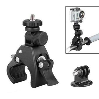 Harga YICOE Quick Clip Bicycle Bike Mount with Tripod Adaptor for Go pro 5 4 3 Xiaomi Yi 4k SJCAM SJ4000 EKEN H9 Action Sport Camera Accessories